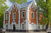 The building of the ORL clinic of the Irkutsk Medical University — Stock Photo