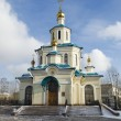 Church of the Holy Martyrs Faith, Hope, Charity and their mother Sophia. Krasnoyarsk — Stock Photo #23123748