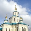 Church of the Holy Martyrs Faith, Hope, Charity and their mother Sophia. Krasnoyarsk — Stock Photo #23123766