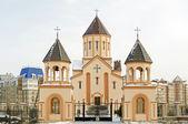 Church of St. Sarkis - Armenian Apostolic Church. Krasnoyarsk — Stock Photo