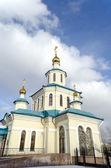Church of the Holy Martyrs Faith, Hope, Charity and their mother Sophia. Krasnoyarsk — Stock Photo
