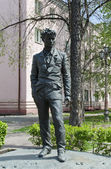 Playwright Alexander V. Vampilov's monument in Irkutsk — Photo
