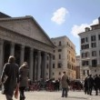 Pantheon, famous monument in Rome, Italy — Stock Video