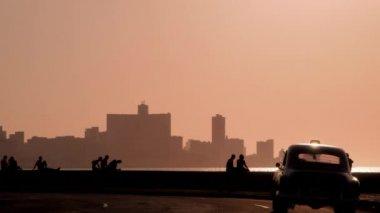 Skyline in La Habana, Cuba — Stock Video #25259385