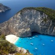 Navagio Beach in Zakynthos — Stock Photo