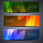 Set of abstract web header/banner designs — Stock Vector #14150719