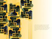 Design moderne abstrait. — Vecteur