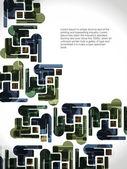 抽象的な現代設計の背景. — ストックベクタ