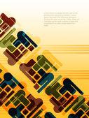 抽象现代设计好的背景. — 图库矢量图片