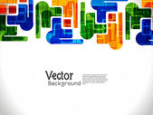 Abstract modern designed colorful background. — 图库矢量图片