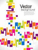 Abstracte modern ontworpen achtergrond. — Stockvector