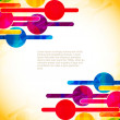 Abstract modern designed background. - Stock Vector
