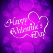 Royalty-Free Stock Vector Image: Beautiful valentine\'s day design on red background.