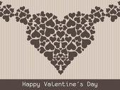 Beautiful Valentine's Day background. — Vector de stock