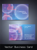 Vector business card design — Stock Vector