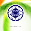 Beautiful background design for Indian republic day. - 