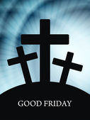 Élégant fond vendredi Saint — Vecteur