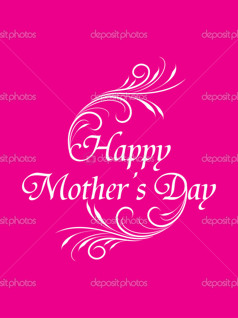 Artistic elegant mother 39 s day card design stock vector for Classy mothers day cards
