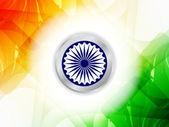 Prachtige Indiase vlag themaontwerp. — Stockvector