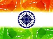 Beautiful Indian flag theme design. — Stock Vector