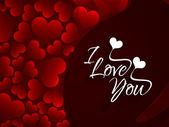 Fundo amor elegante para o dia dos namorados. — Vetor de Stock