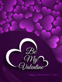 Elegant Love background for valentine's day. — Vecteur