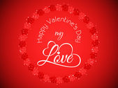 Elegant Love background for valentine's day. — Wektor stockowy