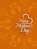 Beautiful mother's day Background design. — Wektor stockowy