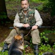 Hunter on hunting - Foto de Stock