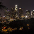 Night LA - Stock Photo