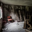 Stock Photo: Old room in Abandoned Hotel