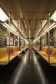 New York Subway Car — Stock Photo