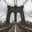 Brooklyn Bridge - Stock Photo