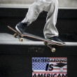 Stock Photo: Skateboarding in America