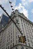 Semáforo da cidade de nova york — Foto Stock