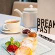 Breakfast on Table — Stock Photo #21330651