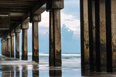 Pier Columns — Stock Photo