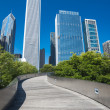 Stock Photo: Millenium Park, Chicago