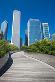 Millenium Park, Chicago — Stock Photo