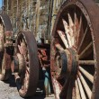 Stock fotografie: Wagon Wheels