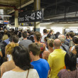 Stock Photo: Traffic in New York Subway