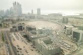 Parking in the City, Dubai Tilt Shift — Stock Photo