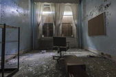 Old Abandoned Room in the Hospital — Stock Photo