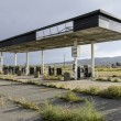 Stock Photo: Abandoned gas station in Utah