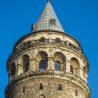 Beautiful view on Galata tower in Istanbul — Stock Photo