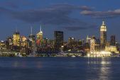 Night New York City — Stock Photo