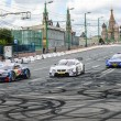 Stock Photo: DTM Racing series in Moscow City Racing