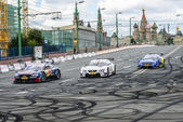 DTM Racing series in Moscow City Racing — Stock Photo