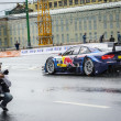 Постер, плакат: Professional DTM Racing driver Mike Rowe