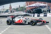 Professional Formula 1 McLaren-Mercedes — Stock Photo